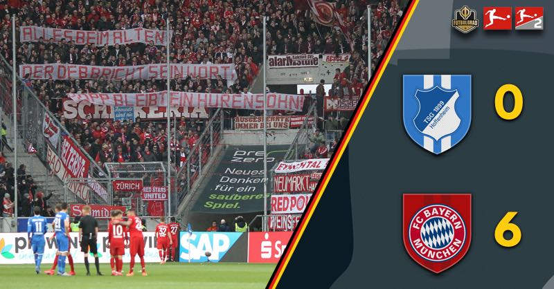Fan protests overshadow Bayern's victory against Hoffenheim