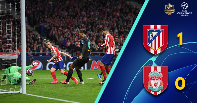 Advantage Atlético as Liverpool find their Madrid return frustrating