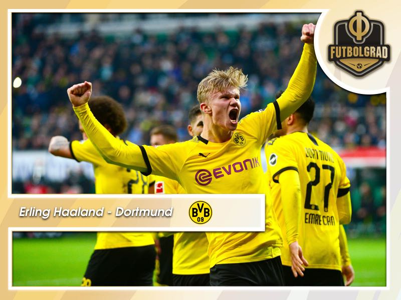 Haaland: Dortmund's Viking continues to dominate the Bundesliga
