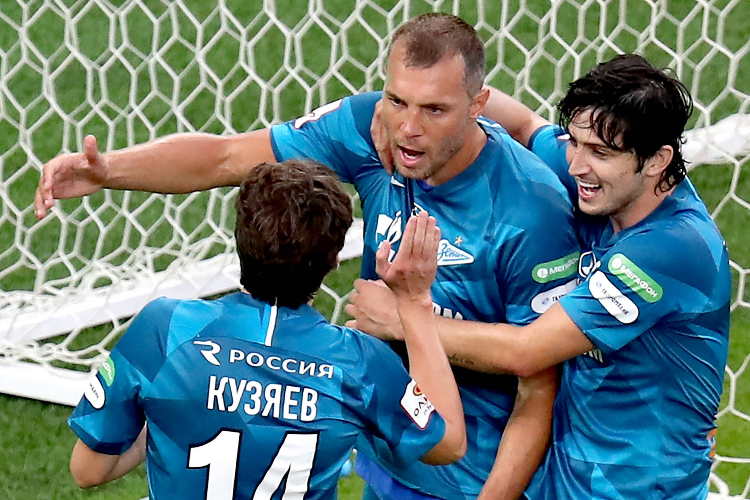 Dzyuba saves Zenit blushes with late penalty to win Russian Cup