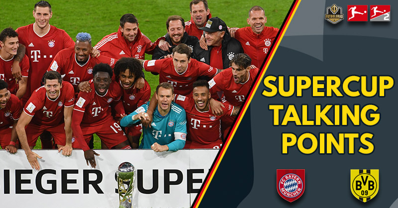 Dortmund fight back but Bayern prevail – Supercup 2020 Talking Points