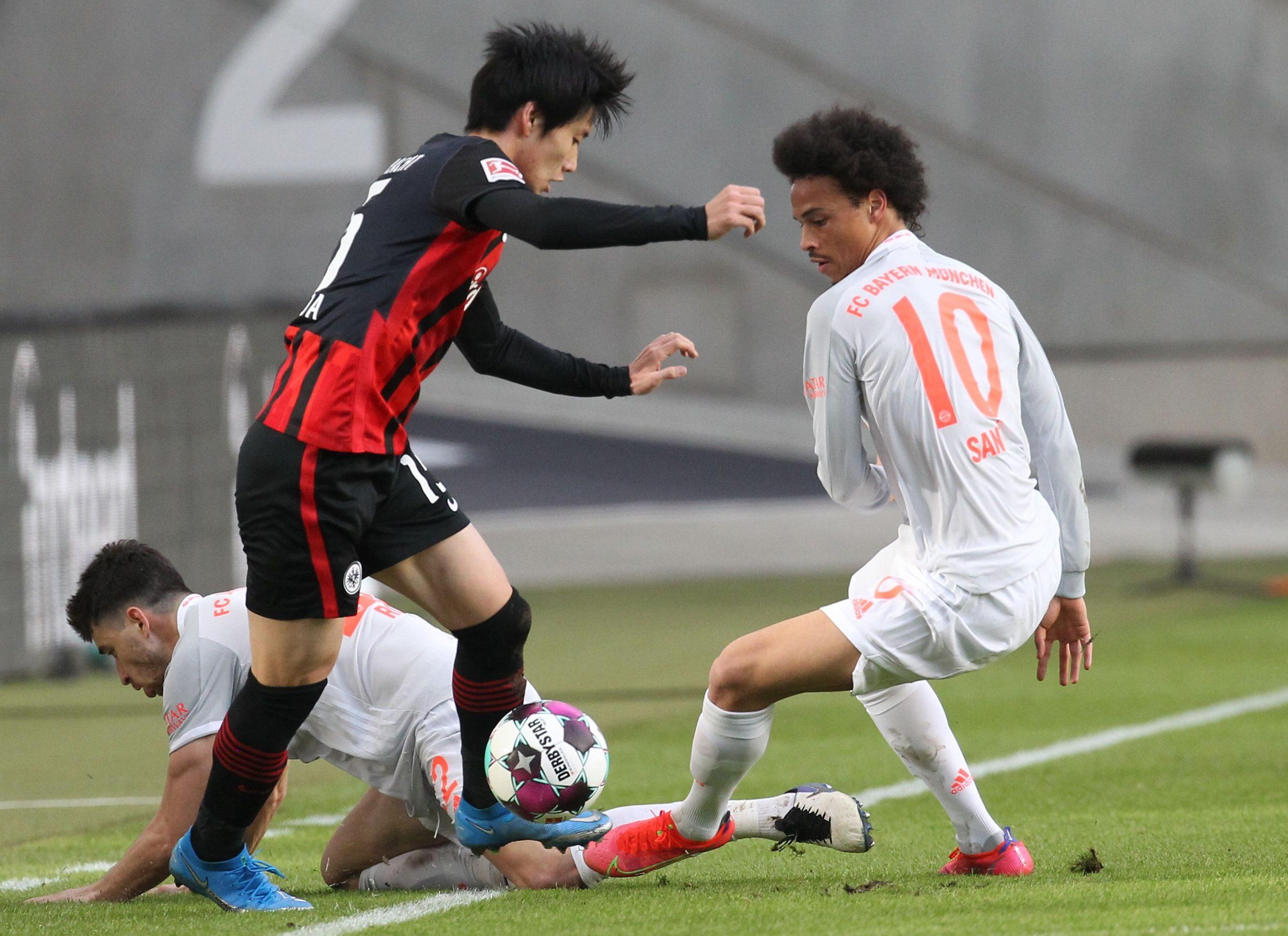 Daichi Kamada - Eintracht Frankfurt vs Bayern Munich