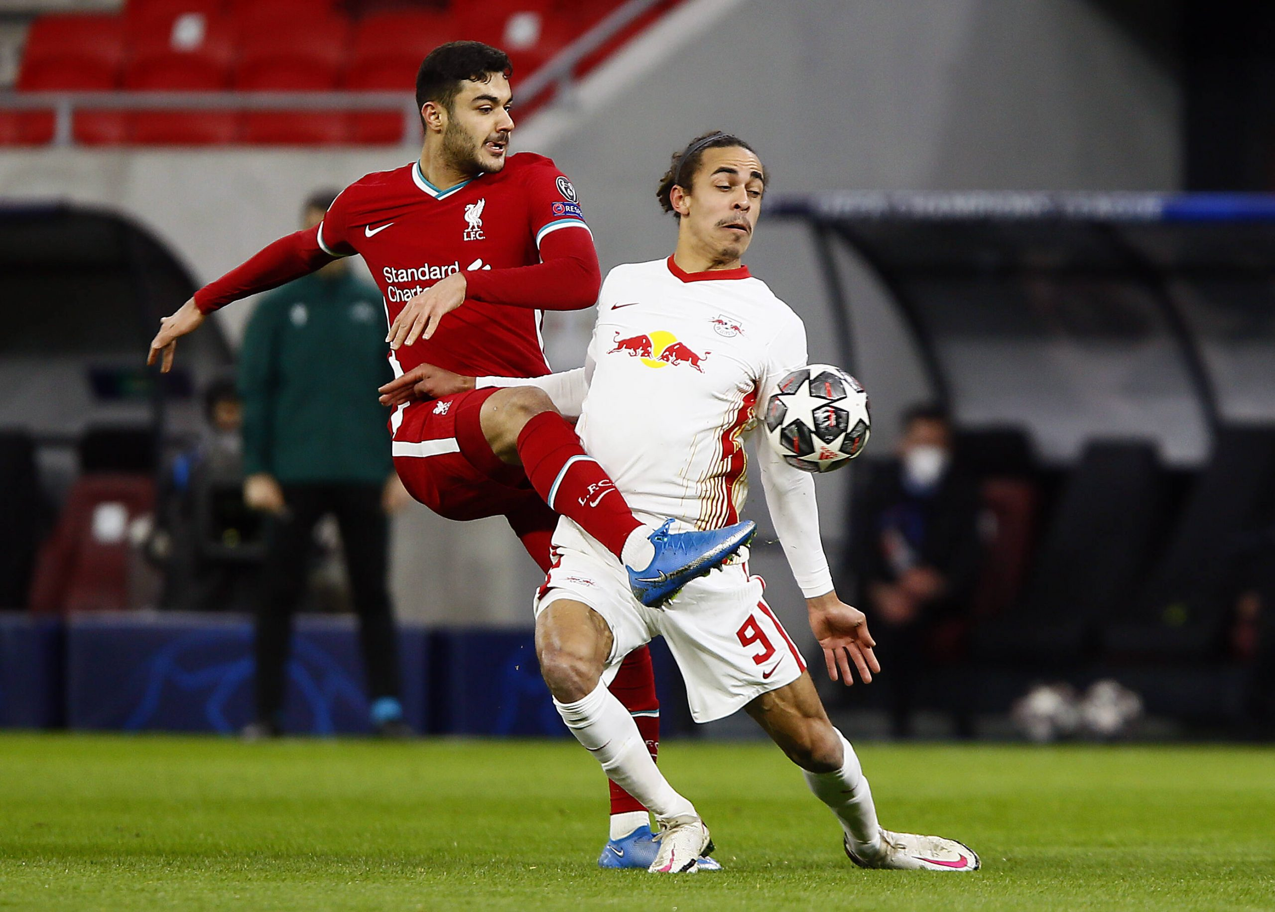 Liverpool v RB Leipzig - Kabak Poulsen