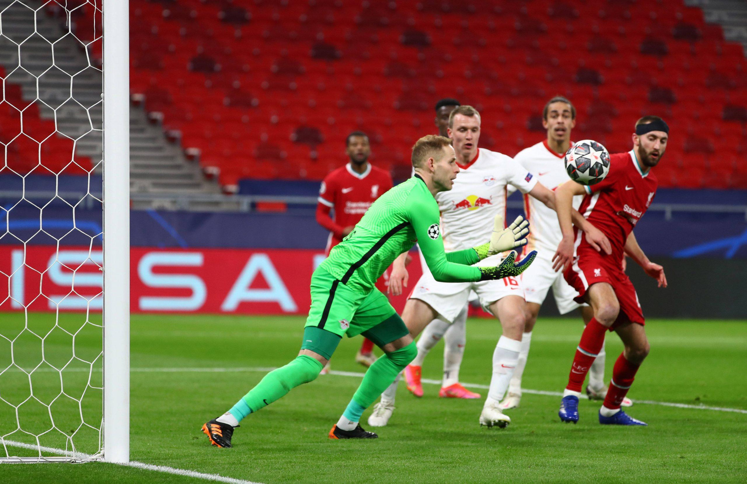 Liverpool vs RB Leipizg - Peter Gulacsi
